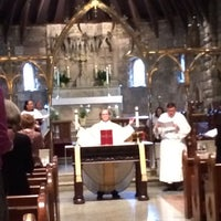 Photo taken at Christ Church by Alison C. on 5/4/2014