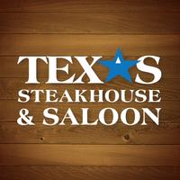 Photo taken at Texas Steakhouse & Saloon by Megan C. on 1/7/2014