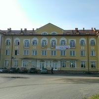 Photo taken at Ж/д станция Ивангород by Vasiliy L. on 8/23/2014