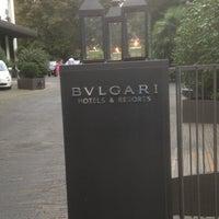 Photo taken at Bulgari Hotel Milano by rpecci P. on 8/19/2013