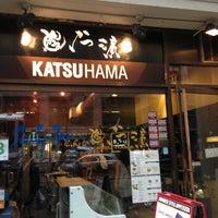 Photo taken at Katsu-Hama by Minhee J. on 6/18/2013