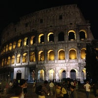 Photo taken at Piazza del Colosseo by Александр М. on 5/9/2013