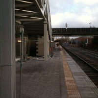 Photo taken at Salford Crescent Railway Station (SLD) by David G. on 4/2/2013