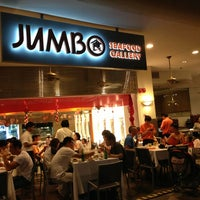Photo taken at Jumbo Seafood Restaurant by APRILIDER on 1/27/2013