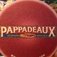 Photo taken at Pappadeaux Seafood Kitchen by Brandan R. on 4/7/2013
