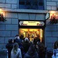 Photo taken at Luini by Barbara B. on 12/28/2012