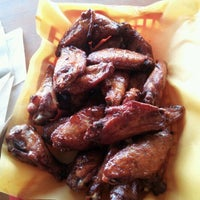 Photo taken at Moe's Bar-B-Que & Bowl by Tina T. on 9/21/2012