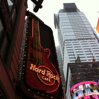 Photo taken at Hard Rock Cafe New York by Alex R. on 4/12/2013