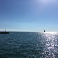 Photo taken at Lake Erie by Erlie P. on 9/19/2016