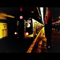 Photo taken at MTA Subway - Parsons Blvd (F) by David D. on 10/2/2012