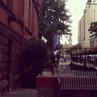Photo taken at HI New York Hostel by Camila R. on 10/12/2012