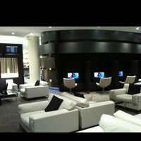 Photo taken at Etihad First Class Lounge & Spa by Zaccheo Carwyn L. on 4/19/2013