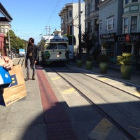 Photo taken at MUNI Bus Stop - Castro & 17th by 🌟Misty B. on 10/2/2013