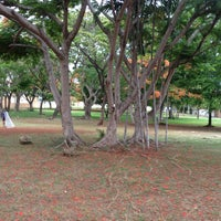 Photo taken at Parque Las Praderas by Ki S. on 6/8/2013