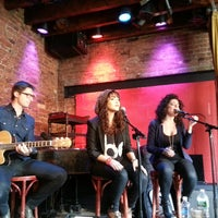 Photo taken at Rockwood Music Hall by Marc G. on 3/24/2013