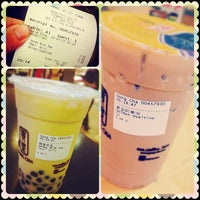 Photo taken at Gong Cha 贡茶 by Gan Chin Boon Vycent 颜. on 9/15/2013