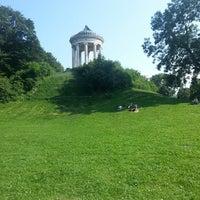 Photo taken at Englischer Garten by Bruno M. on 7/7/2013