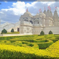 Photo taken at BAPS Shri Swaminarayan Mandir by Giordana S. on 4/29/2013