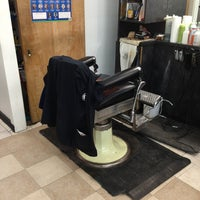 Photo taken at Ray's Barber Shop by Jerode K. on 3/7/2014