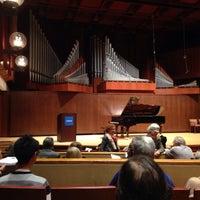 Photo taken at Paul Recital Hall at Juilliard by Wilson Z. on 11/16/2015