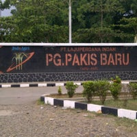 Photo taken at PT.Lajuperdana Indah unit PG.Pakis Baru by Syaifur R. on 4/12/2013