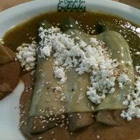 Photo taken at La Casa de Las Enchiladas by Carmen R. on 10/13/2012