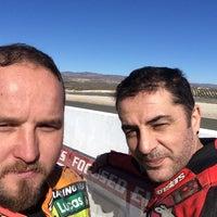 Photo taken at Circuito De Almería by Yunus E. on 1/17/2015