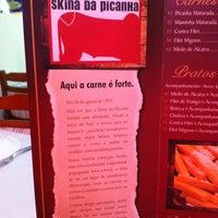 Photo taken at Skina da Picanha by Daniel B. on 6/23/2013