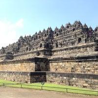 Photo taken at Borobudur Temple by sarah || aïs™ on 2/11/2013