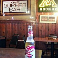 Photo taken at Gopher Bar by Sounder A. on 6/28/2012