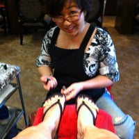 Photo taken at Shape & Color Nails by Susan W. on 10/12/2011