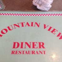 Photo taken at Mountain View Diner by Mary P. on 4/18/2012