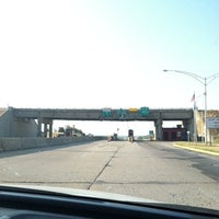 Photo taken at Toll Plaza by Mary C. on 8/2/2011