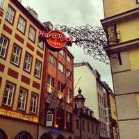 Photo taken at Hard Rock Cafe Munich by Ricardo M. on 4/15/2013