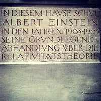 Photo taken at Einstein-Haus by Ricardo M. on 4/18/2013