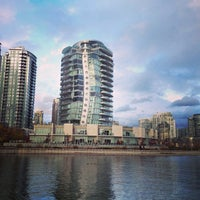 Photo taken at Aquabus Hornby St. Dock by Stephane M. on 11/17/2013