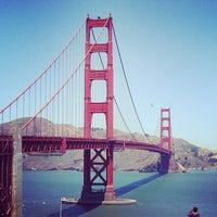 Photo taken at Golden Gate Bridge by Dhanesh S. on 6/20/2013