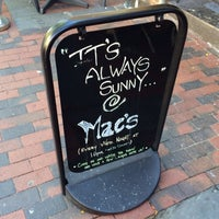 Photo taken at Mac's Tavern by Michael G. on 10/13/2013