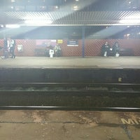 Photo taken at Salford Central Railway Station (SFD) by Matthew B. on 2/11/2016