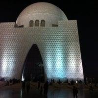 Photo taken at Mazar-e-Quaid by Noman K. on 11/16/2013