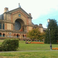 Photo taken at Alexandra Palace by Angel Z. on 9/15/2012