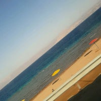 Photo taken at South Beach - Aqaba by Lubna on 9/12/2016