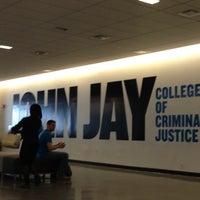 Photo taken at John Jay College of Criminal Justice by Eder N. on 4/25/2013