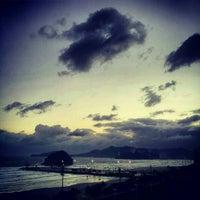 Photo taken at Praia do José Menino by Luiz d. on 9/26/2012