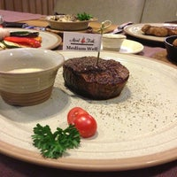 Photo taken at Meat&Fish by Yulia V. on 7/25/2013