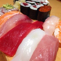 Photo taken at 沼津魚がし鮨 パルシェ6F店 by Nobuaki O. on 7/4/2015