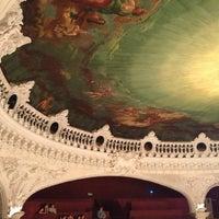 Photo taken at Teatro Municipal de Santiago by Carolina C. on 1/20/2013