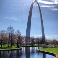 Photo taken at Gateway Arch by Cody H. on 4/13/2013