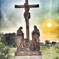 Photo taken at Holy Spirit Catholic Parish of McAllen by Myssie C. on 4/27/2016