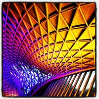 Photo taken at London King's Cross Railway Station (KGX) by Mick Y. on 3/6/2013